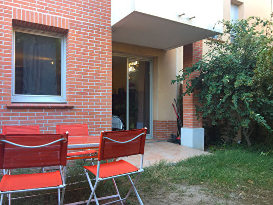 TEXT_PHOTO 0 - T2 40m2 Rez de Jardin - Toulouse Nord